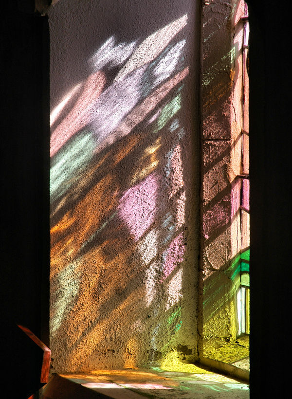 Stained Glass Haroldston Pembrokeshire Wales UK