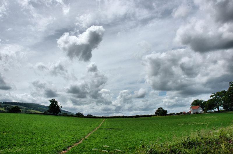 Track Ludlow Shropshire UK
