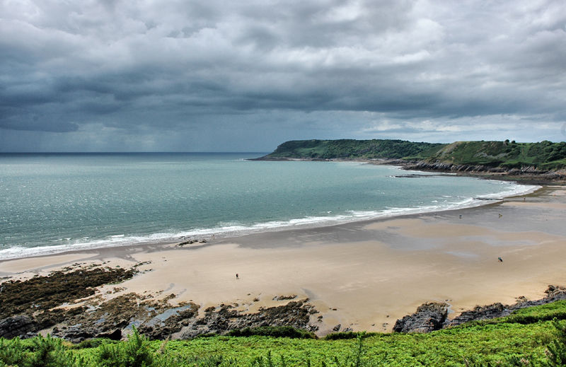Caswell Bay Gower Wales UK