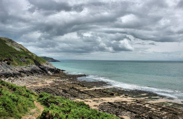 Coast Path Gower Wales UK