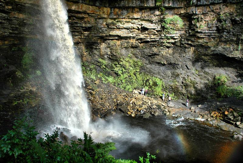 Waterfall Hardraw Yorkshire UK