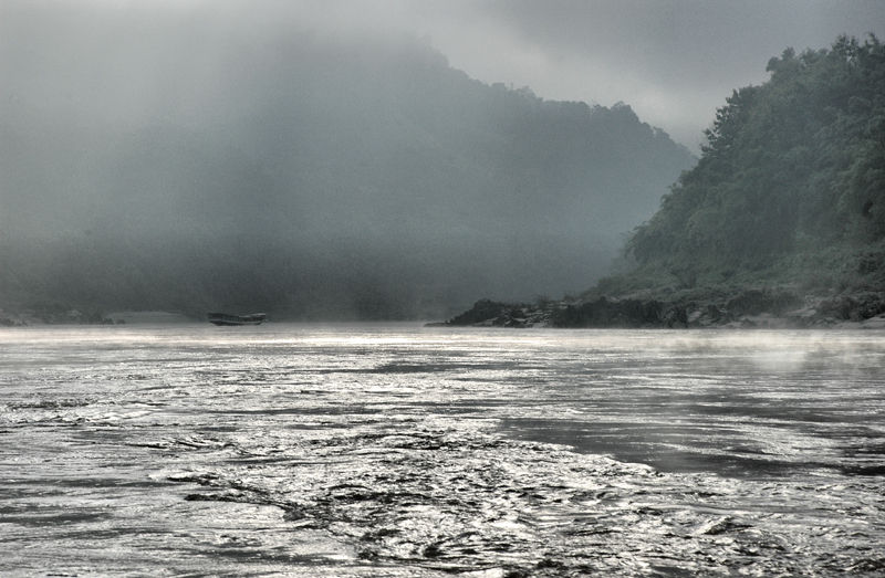 Pakbeng Mekong Laos