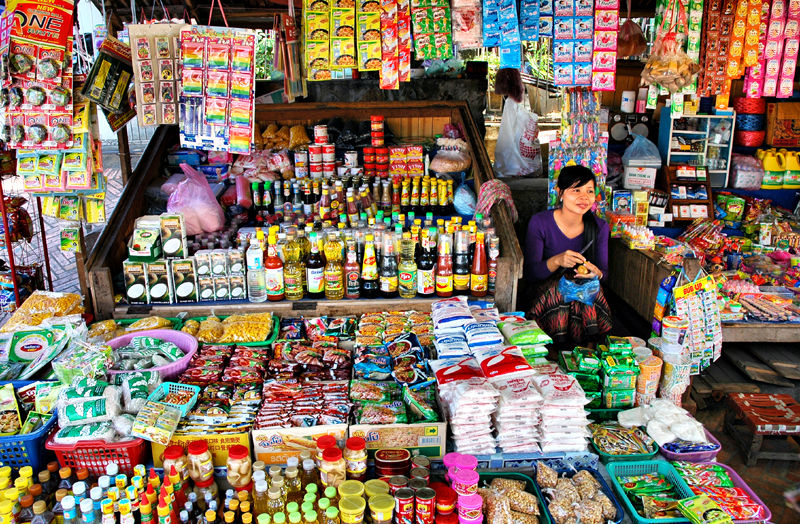Shop Luang Prabang Laos