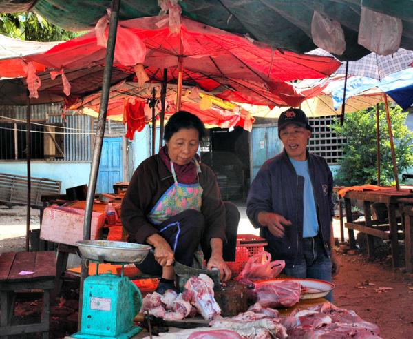 Butcher Luang Prabang  Laos