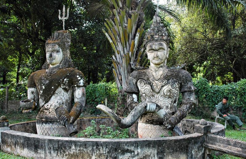 Xieng Khuan Sculpture park Vientianne Laos