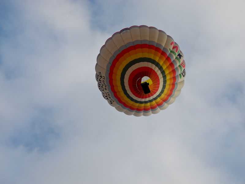 Balloon Ludlow Shropshire UK
