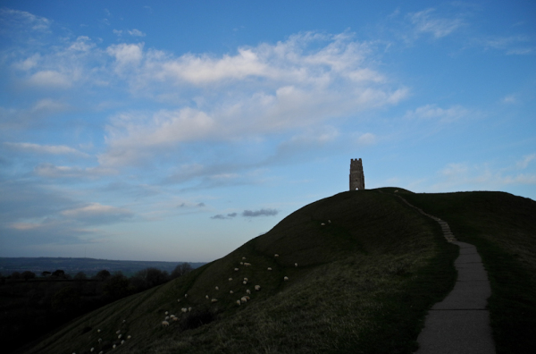 Glastonbury Tor Somerset UK
