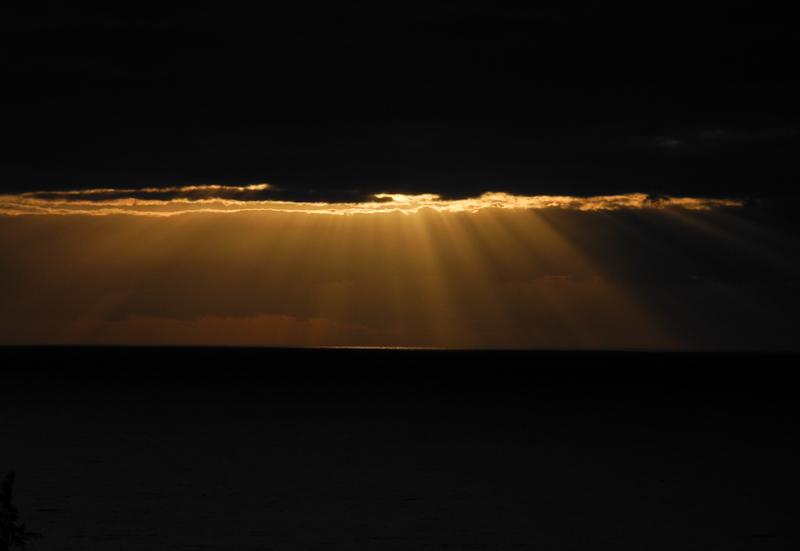 Sunrise Playa de Santiago La Gomera Canaries Spain