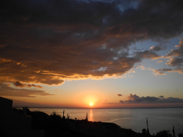 Dawn Playa de Santiago La Gomera Canaries Spain