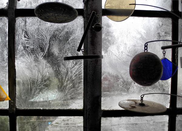 Frost Ludlow Shropshire UK