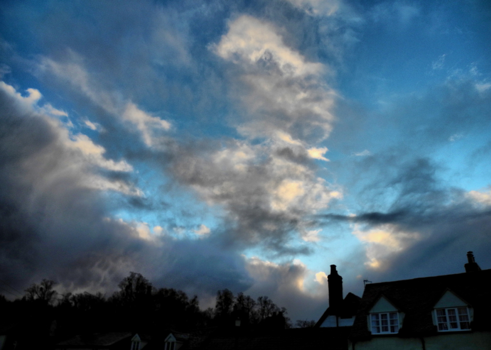 Ludlow Sunset Shropshire UK