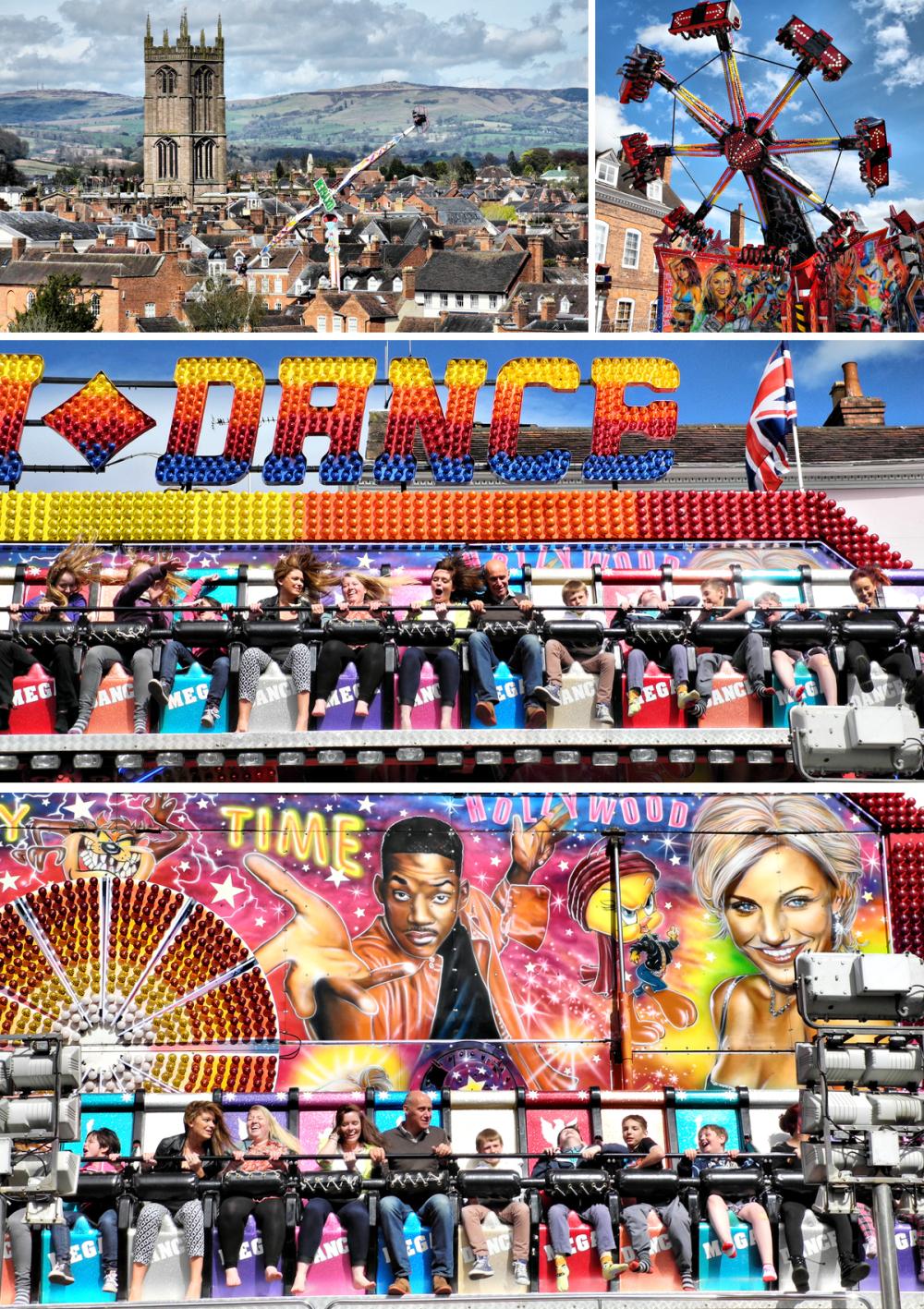 Ludlow May Fair Shropshire UK