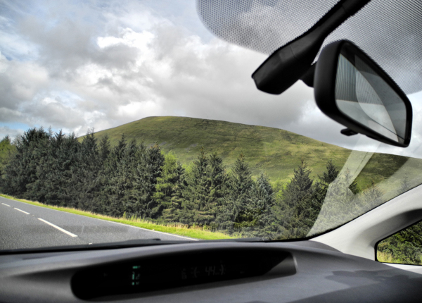 Pen Y Fan Drive By Wales UK