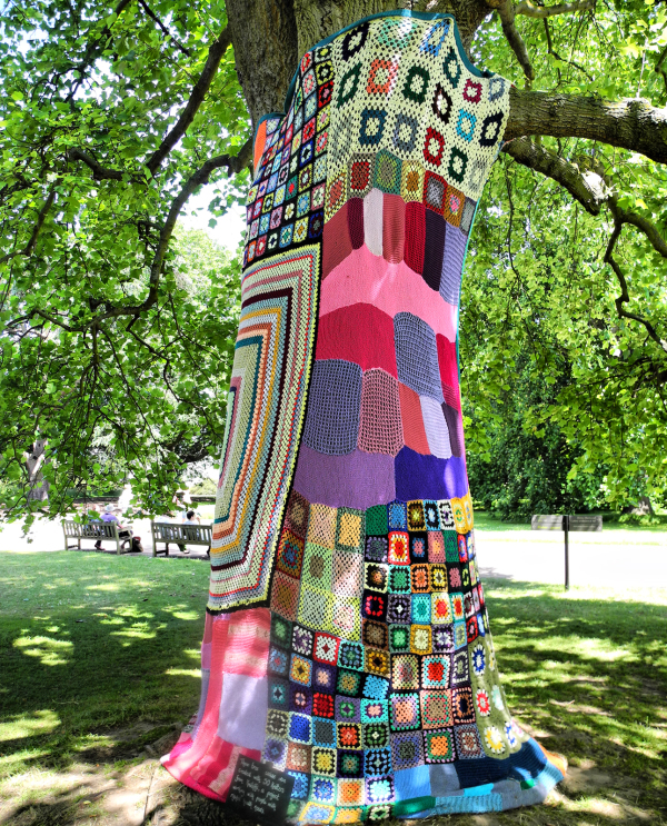 Kew Gardens Wrapped Tree UK