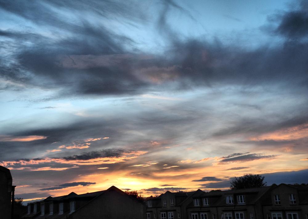 Edinburgh Sunset Scotland UK