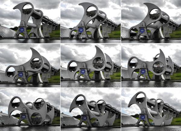 Falkirk Wheel Scotland UK