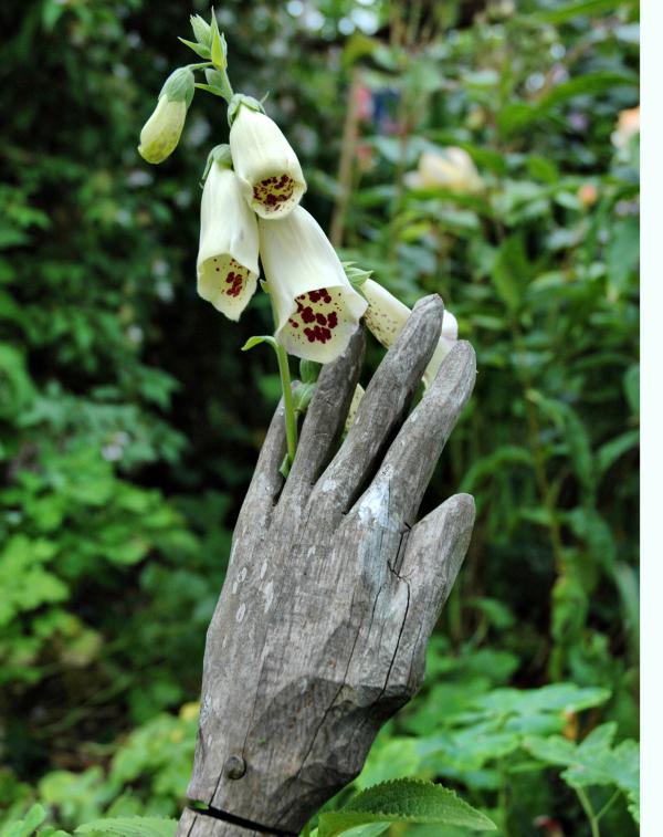 Ludlow Shropshire UK Hand