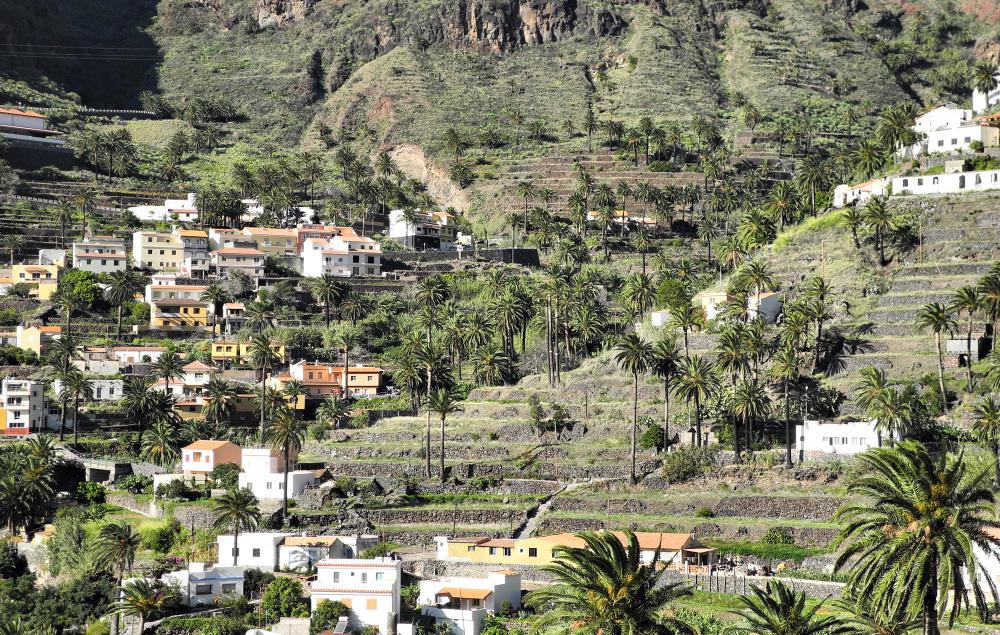La Gomera Canaries Spain La Vizcaina