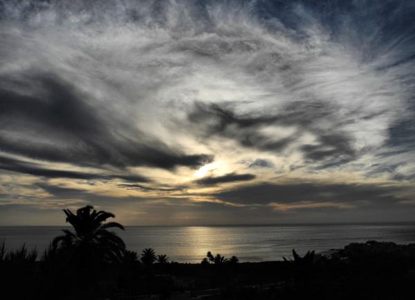 La Gomera Canaries Spain Sunset