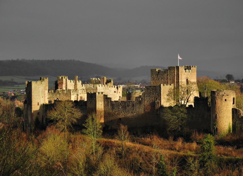 Ludlow Shropshire UK Castle