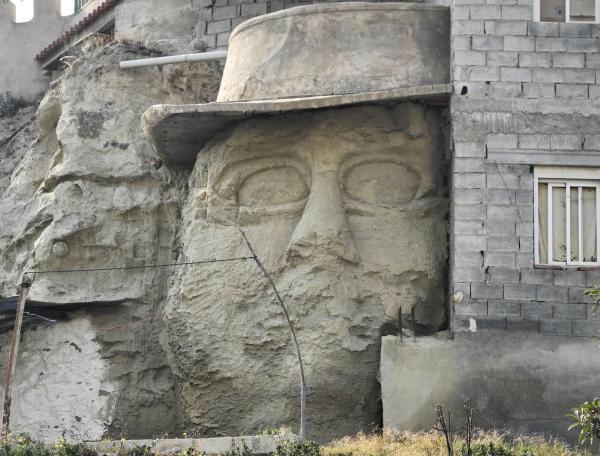 Almeria Head Stone  Spain