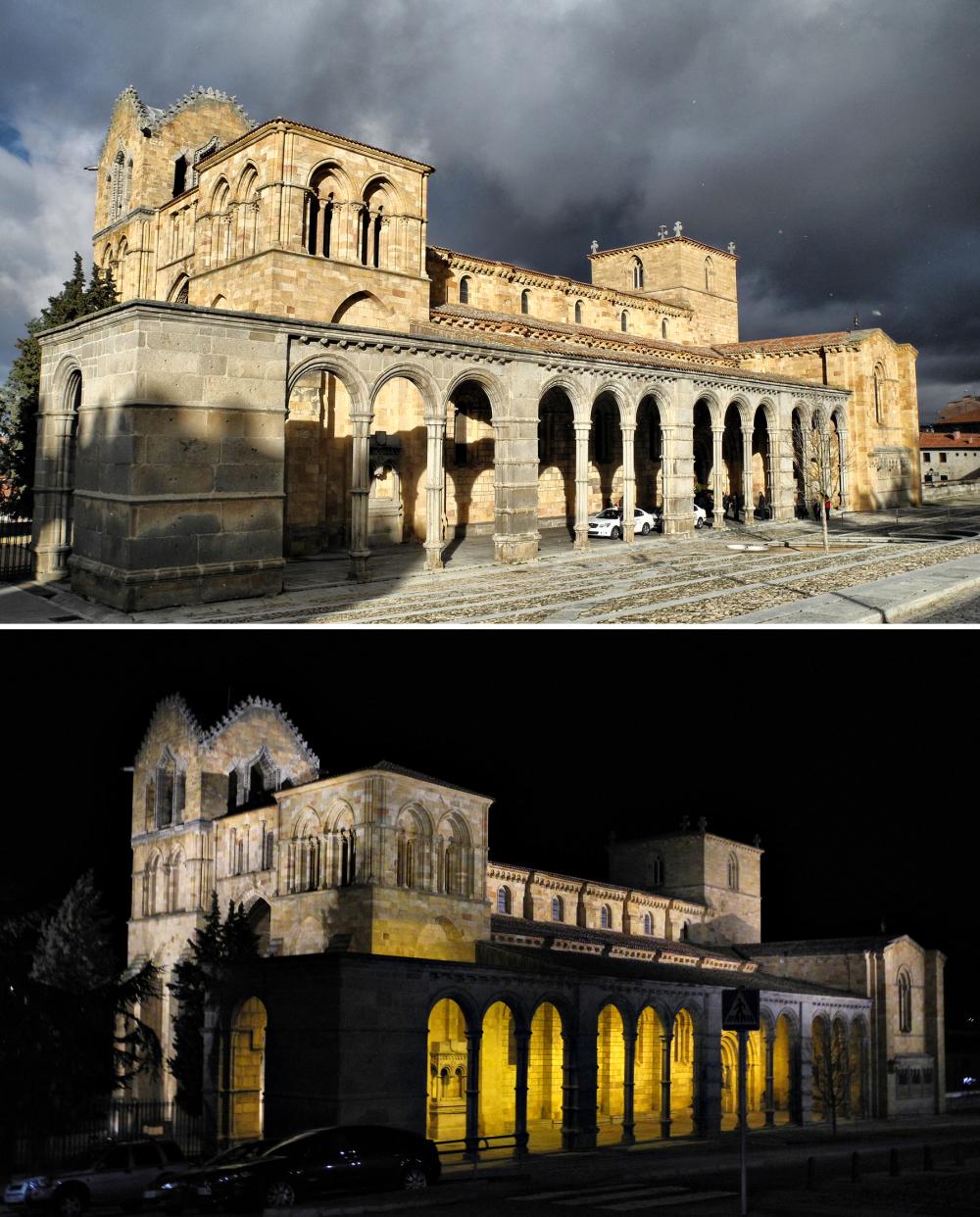 Avila Spain Basilica