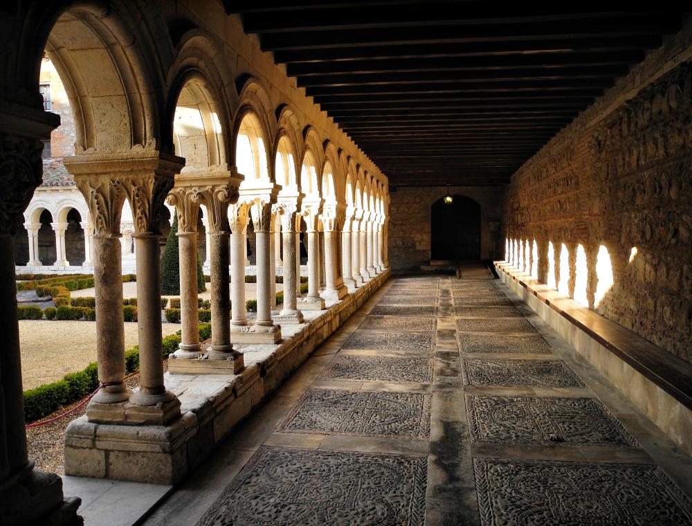 Burgos  Monastery Cloisters  Spain
