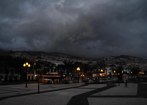 Madeira Funchal Night