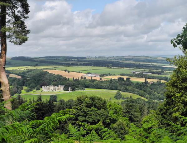 Ludlow Shropshire UK Downton Castle