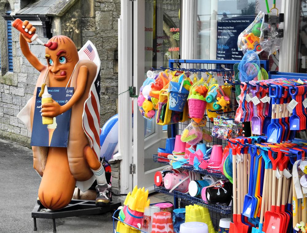 Cornwall Looe Hot Dog