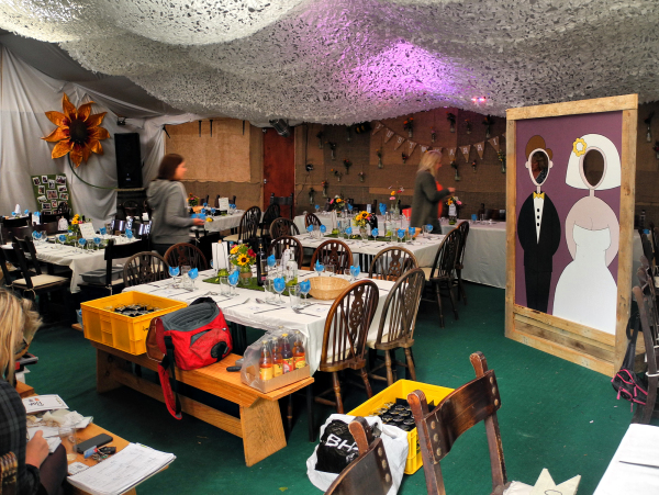 Ludlow Shropshire UK Reception