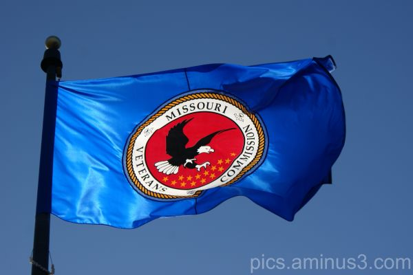 Missouri Veterans Commission Flag