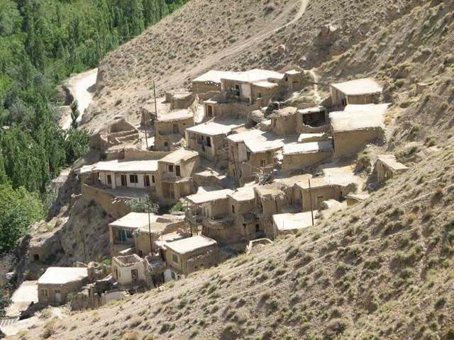 نمایی از روستای رامه