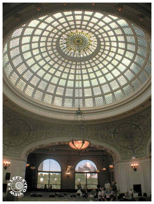 Tiffany Dome and Chandelier