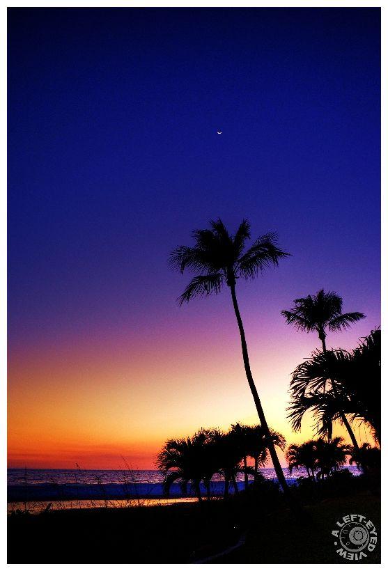 """Fort Myers Beach"", Florida, Sunset"