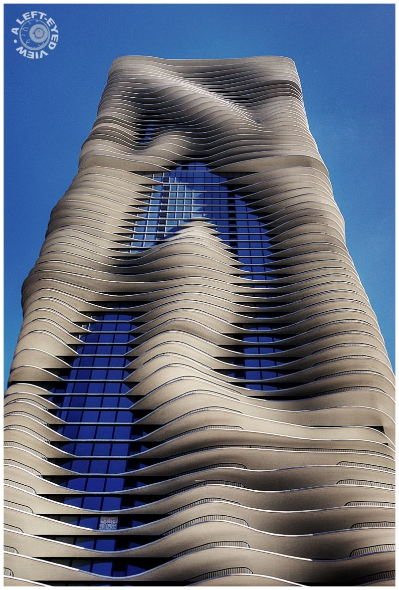 """Aqua Building"", Chicago, ""A Left-Eyed View"""