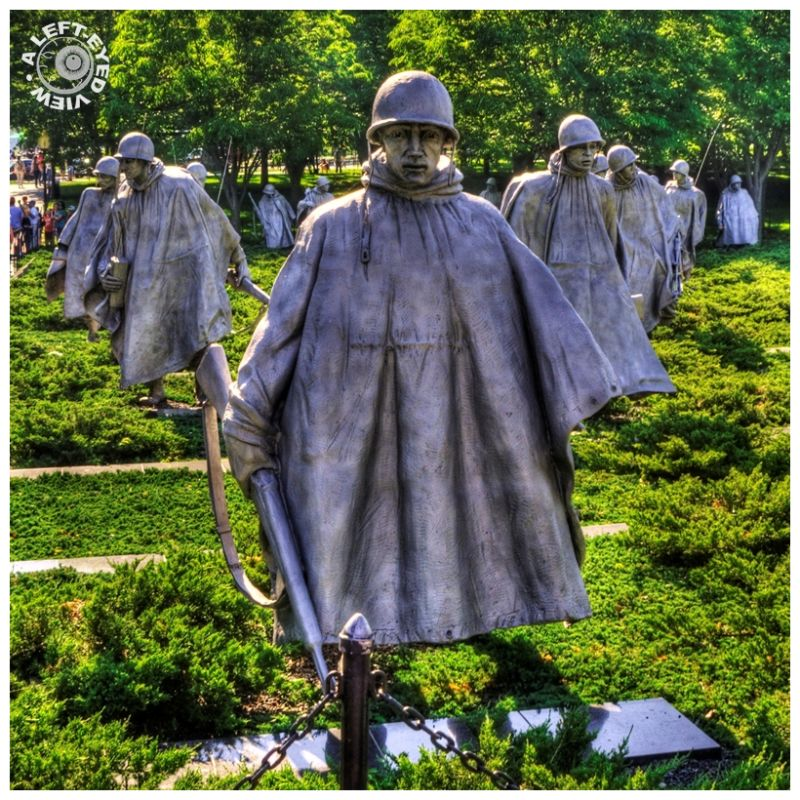 """Korean War Memorial"", ""Washington, DC"""