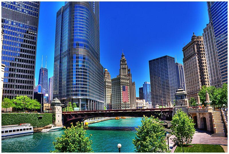 Chicago River, Wabash Avenue Bridge