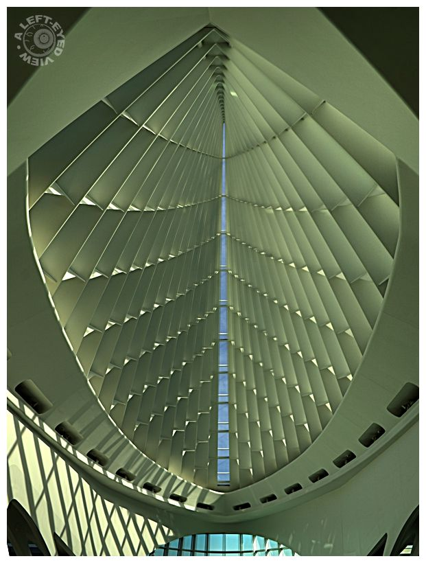 """Milwaukee Art Museum"", ""A Left-Eyed View"", MAM"