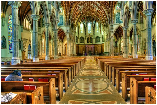 """""""Holy Name Cathedral"""", """"A Left-Eyed View"""""""