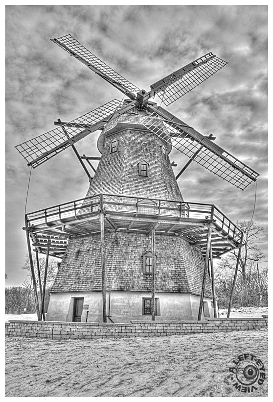 """Fabyan Windmill"", ""A Left-Eyed View"""