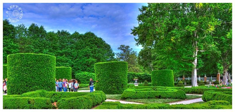 """Palace Gardens"", ""Governor's Palace"", garden"