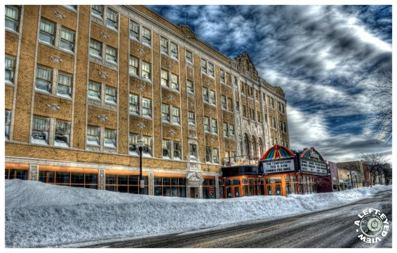"""Blizzard of 2011"", snow, drift, ""Genesee Theatre"""