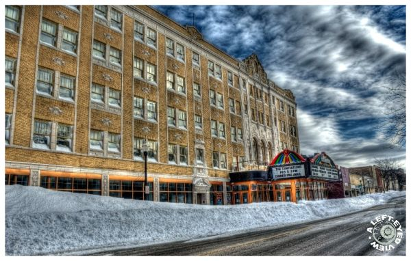 """Blizzard of 2011"", snow, drift, ""Genesee Theatre"""