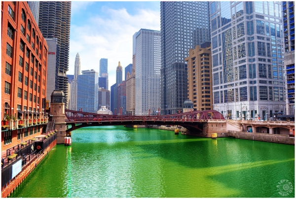 """Chicago River"", ""Color the River Green"", Chicago"