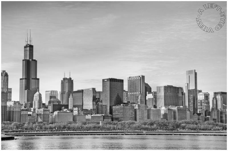 Chicago Skyline From Adler Planetarium Cityscape Amp Urban