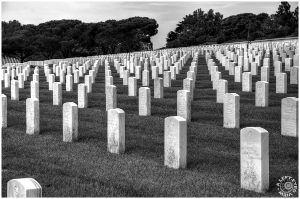 """Fort Rosecrans Cemetery"", ""A Left-Eyed View"""
