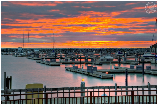 "Sunrise, Waukegan, ""A Left-Eyed View"""