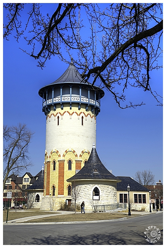 """A Left-Eyed View"", ""Riverside Water Tower"""