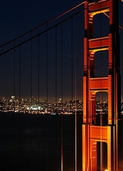 Night over San Francisco